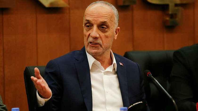 Türk-İş Başkanı Atalay: 3 bin liranın altında asgari ücret çalışanları mutlu etmeyecek