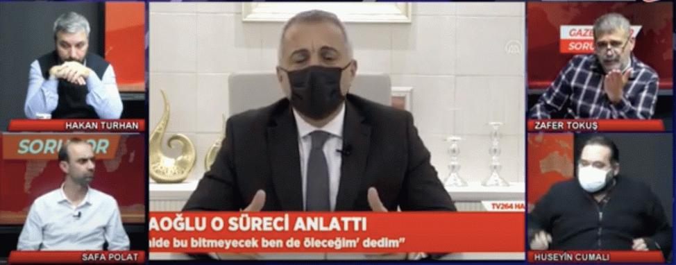 Gazeteciler Soruyor'da Turgut Babaoğlu polemiği