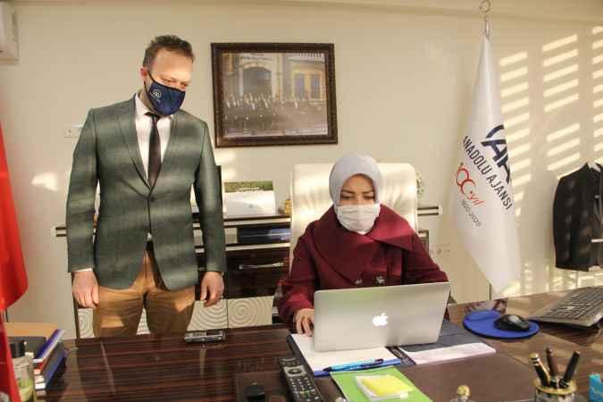 """Milletvekili Atabek, AA'nın """"Yılın Fotoğrafları"""" oylamasına katıldı"""