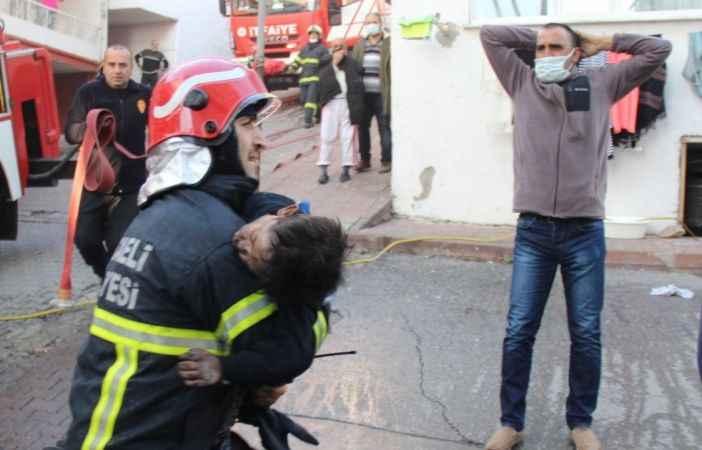 Kocaeli'de yangın dehşeti