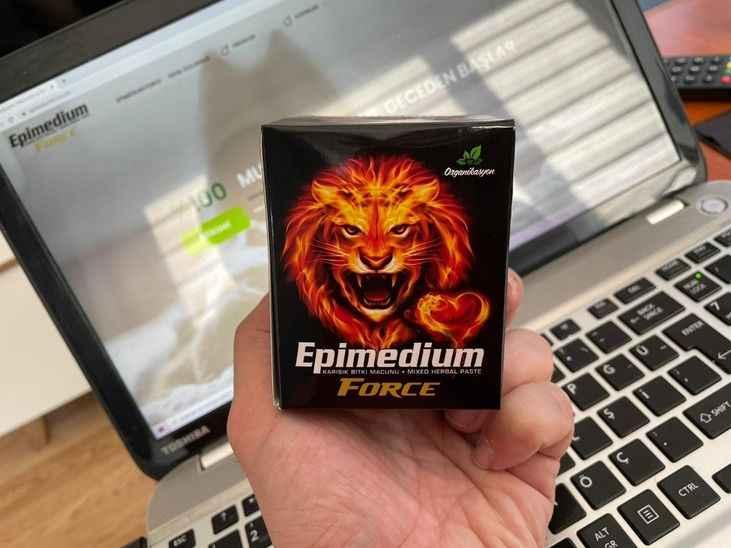 Epimedyumlu Macun satışlarında Epimedium Force önde gidiyor