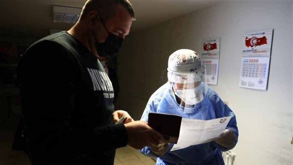 Yurt dışından giriş yapanlara, PCR testi ibrazı uygulaması başladı