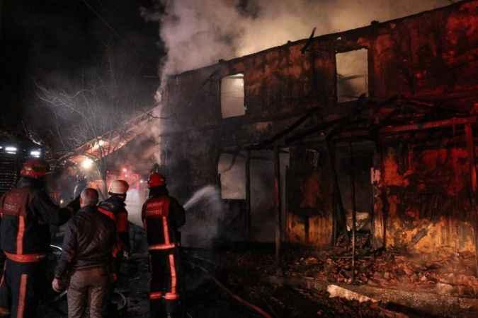 Serdivan'daki  yangında ilgili şok detaylar