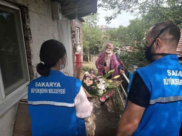 Sakarya'da, Kovid-19 salgını sürecindeki sosyal çalışmalar vatandaşın hayatına dokundu