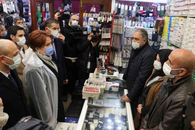 İYİ Parti Genel Başkanı Akşener, Sakarya'da ziyaretlerde bulundu
