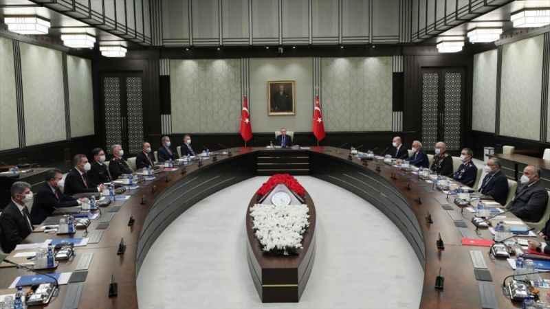 Milli Güvenlik Kurulu Bildirisi'nde 'Doğu Akdeniz' vurgusu