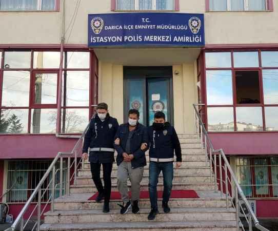 Kocaeli'de 31 yıl hapis cezasıyla aranan hükümlü, parti verdiği villada yakalandı