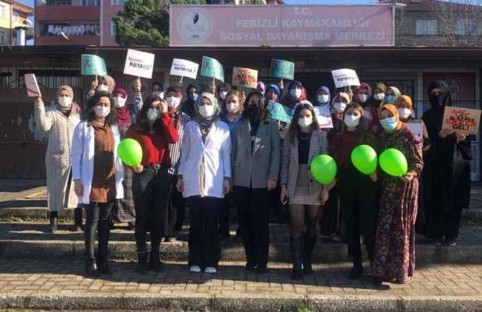 Ferizli'de kadınlara yönelik kanser farkındalık etkinliği düzenlendi