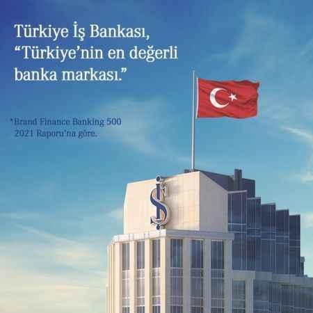 İş Bankası Türkiye'nin en değerli banka markası seçildi