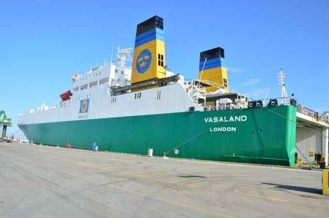 Avrupa'ya yeni ticaret hattı Karasu'dan