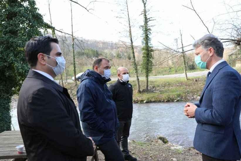 Vali Kaldırım 5 milyonluk projenin başlayacağını duyurdu