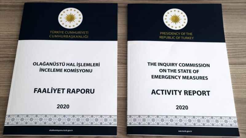 OHAL İşlemleri İnceleme Komisyonu çalışma ve kararlarını raporlaştırdı