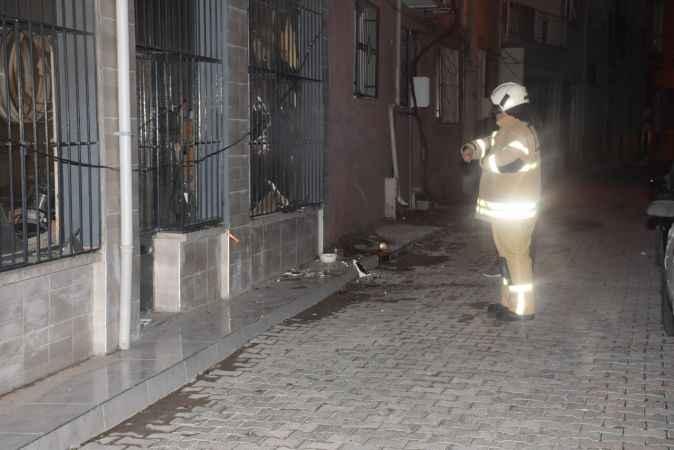 Marangoz atölyesindeki yangın paniğe neden oldu