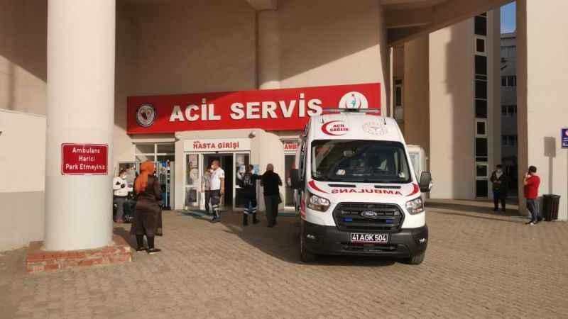 Kocaeli'de bir kişi bıçakla yaralandı