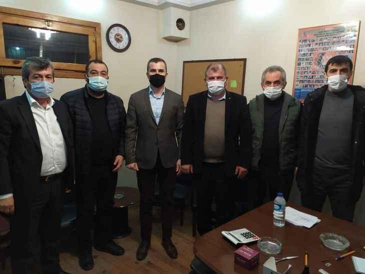 MHP'den Çökekler ziyareti