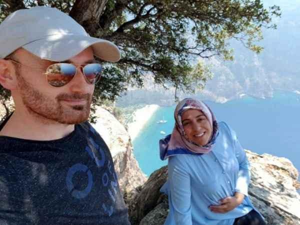 Kayalıklardan itildiği öne sürülen Semra'yı, tatil için eşi ikna etmiş