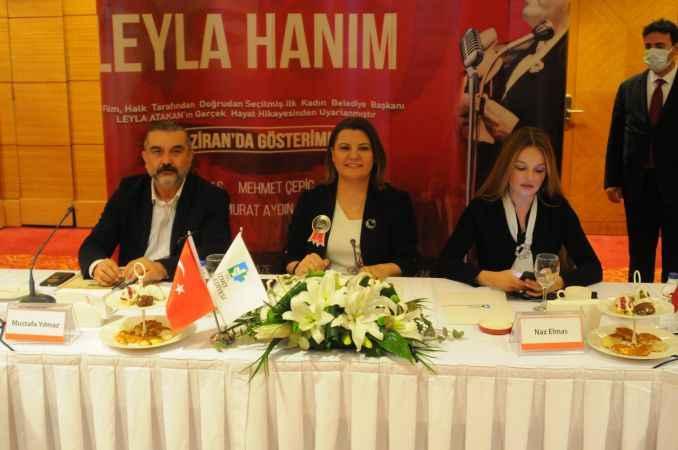 Türkiye'nin ilk kadın belediye başkanı Leyla Atakan'ın hayatı film oluyor