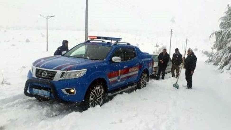 Jandarma: 'Kar sevincini üzüntüye çevirmeyin'