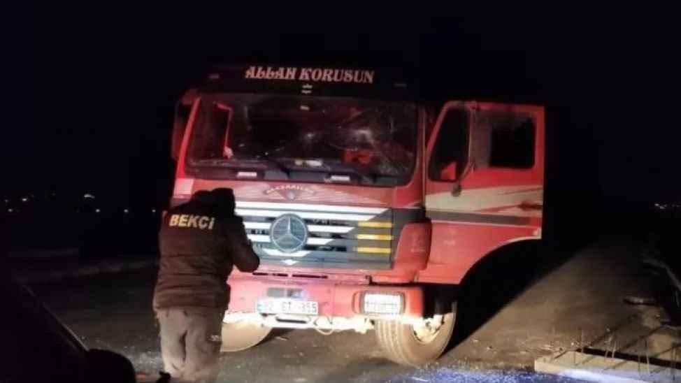 Çekiçli saldırganlar şoförü darp etti