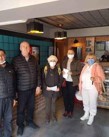 CHP Serdivan Kadın Kolları'ndan esnaf çıkarması