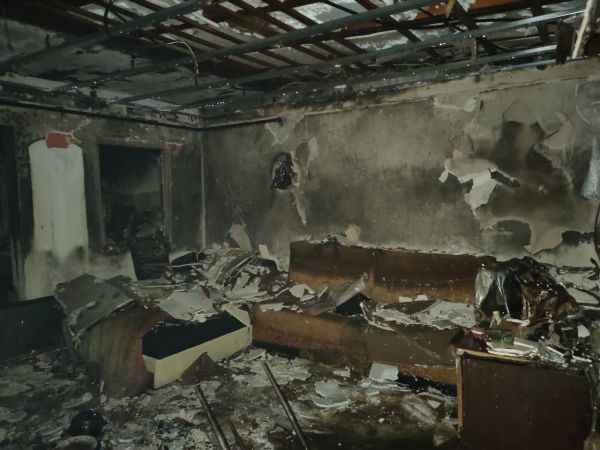 Kocaeli'de evde çıkan yangın söndürüldü