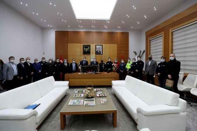 Başkan Yüce BELPAŞ  Genel Müdürü Çelik ile bir araya geldi