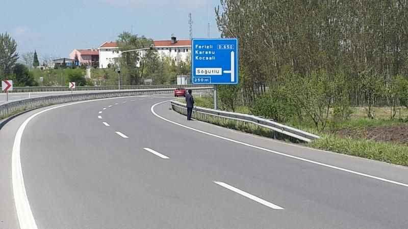 Bu yolu kullanacaklar dikkat! Sol şerit trafiğe kapanacak
