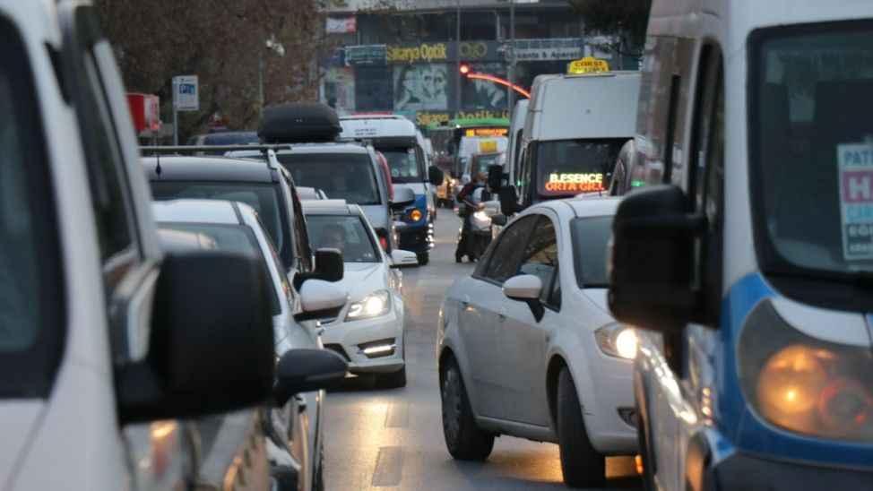 Sakarya da trafiğe kayıtlı araç sayısı belli oldu
