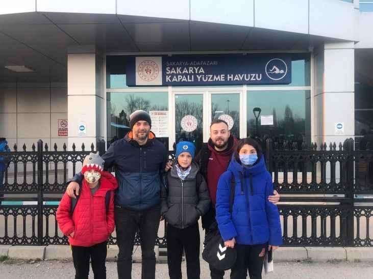 3 sporcu Türkiye Şampiyonasına katılmaya hak kazandı