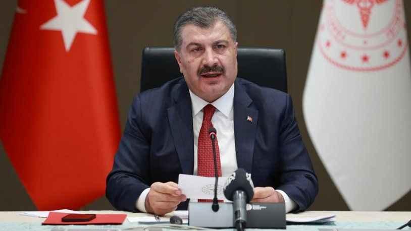 Fahrettin Koca: Alınan kararları Cumhurbaşkanımız açıklayacak..