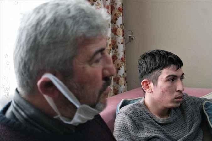 Distoni hastası genç iyileşip doktor olmanın hayalini kuruyor