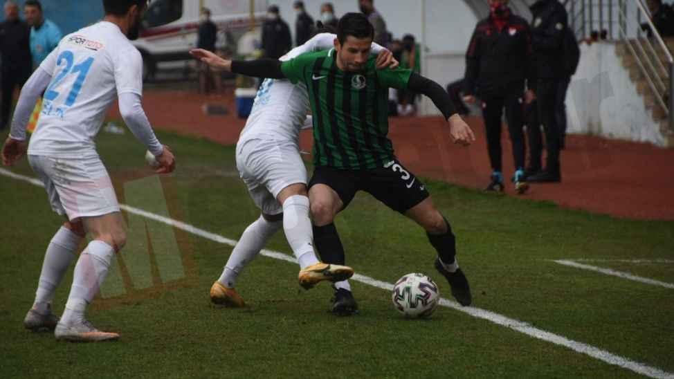 Pazarspor-Sakaryaspor maçının özeti!