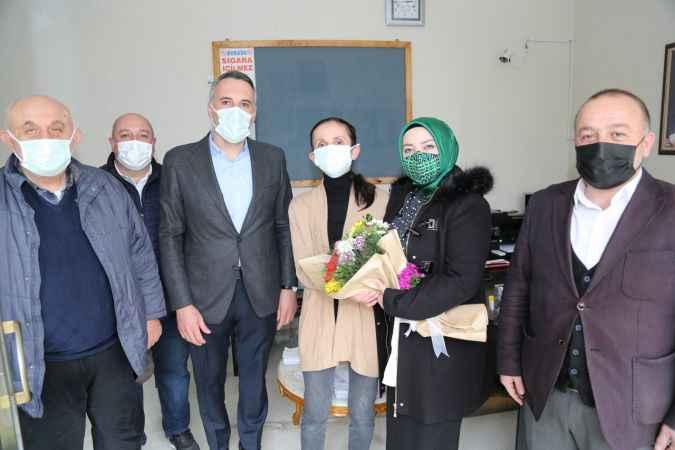 Milletvekili Atabek, kadın muhtarları ziyaret etti