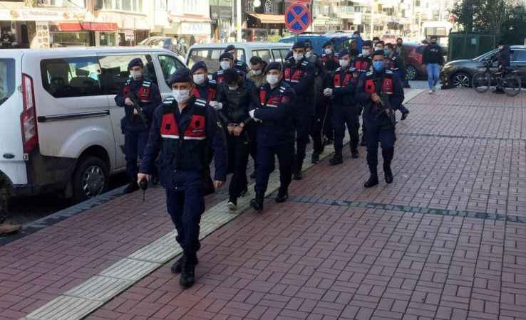 Kocaeli merkezli DEAŞ operasyonunda gözaltına alınan 5 şüpheli adliyede