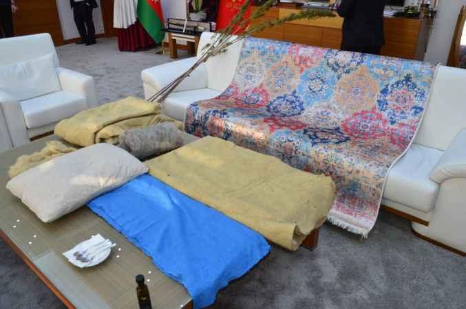 Sakarya'da hasat edilen kenevirden yağ, sabun, yastık ve halı üretildi