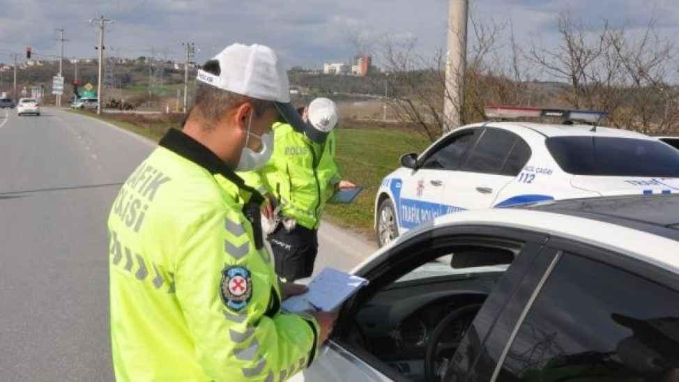 Trafikten rekor ceza... İki günde 300 bin TL