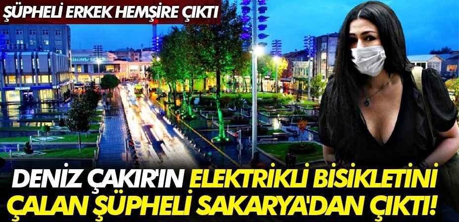 Deniz Çakır'ın elektrikli bisikleti çalan şüpheli Sakarya'dan çıktı!