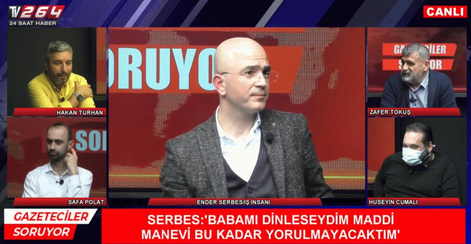 Organik siyasetçi Ender Serbes'ten dobra açıklamalar