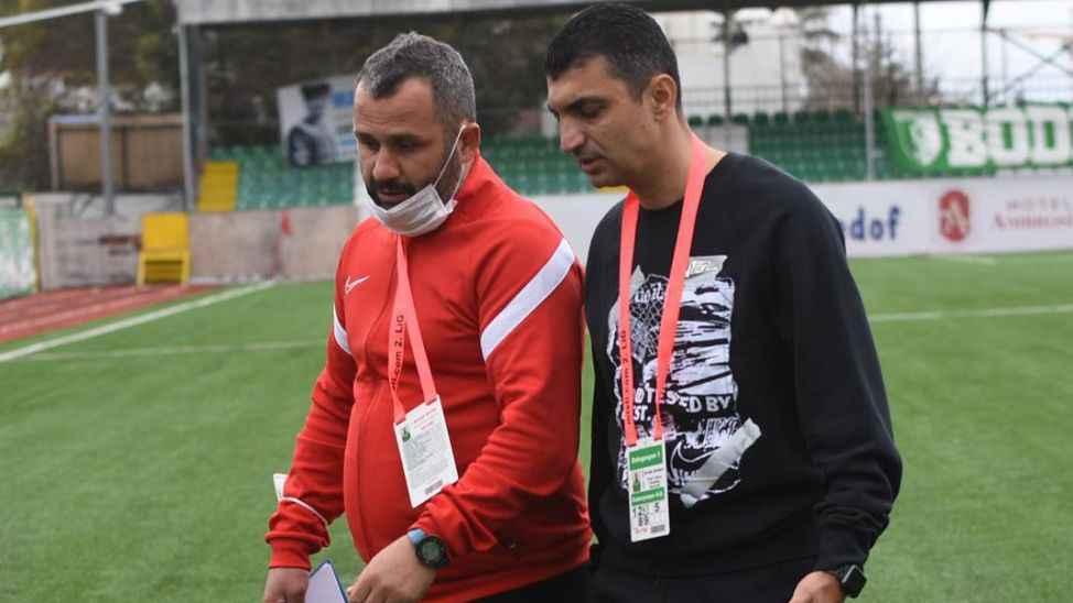 """Bozkurt, """"Oyuncularımı tebrik ediyorum, maçı bırakmadılar"""""""