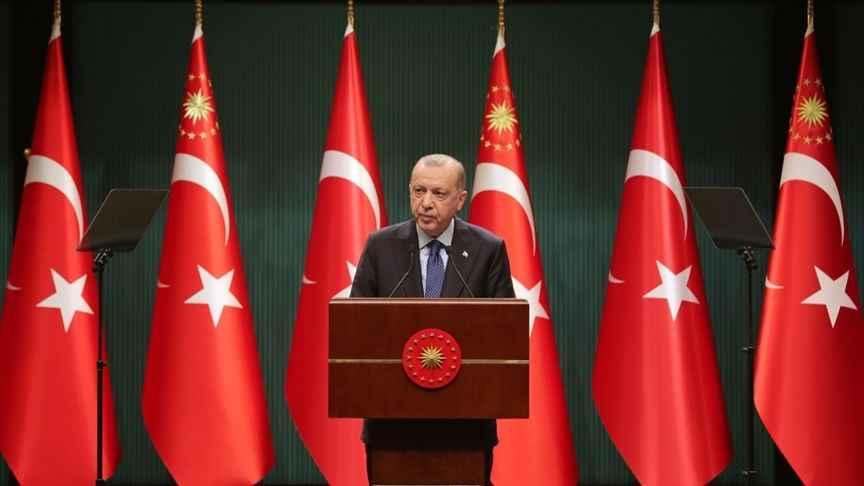 Erdoğan: Kısa çalışma ödeneğini Mart ayında bitiriyoruz!