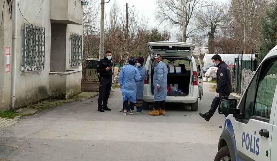 Pamukova'da 1 apartman ve 6 ev daha karantinaya alındı