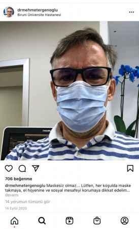 54 yaşındaki Prof. Dr. Ergenoğlu koronavirüsten öldü