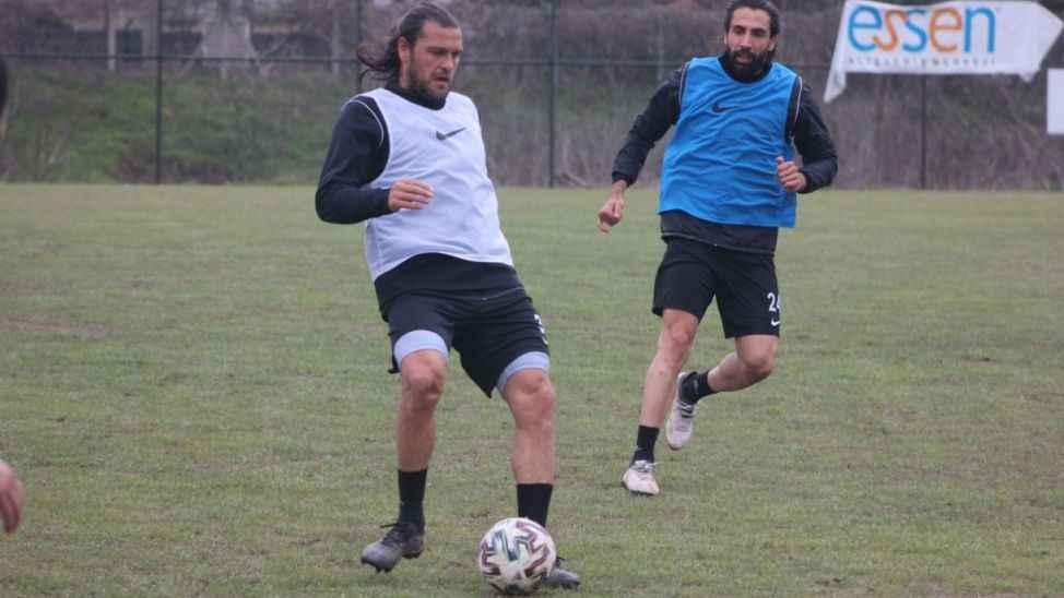 Sakaryaspor Kırşehir hazırlıklarını sürdürdü