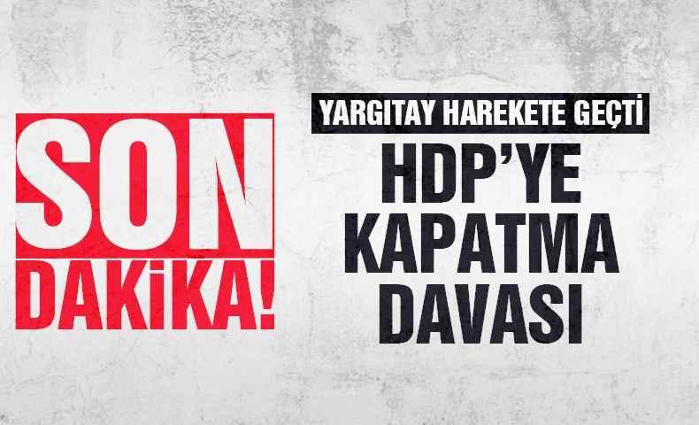HDP'ye kapatma davası...