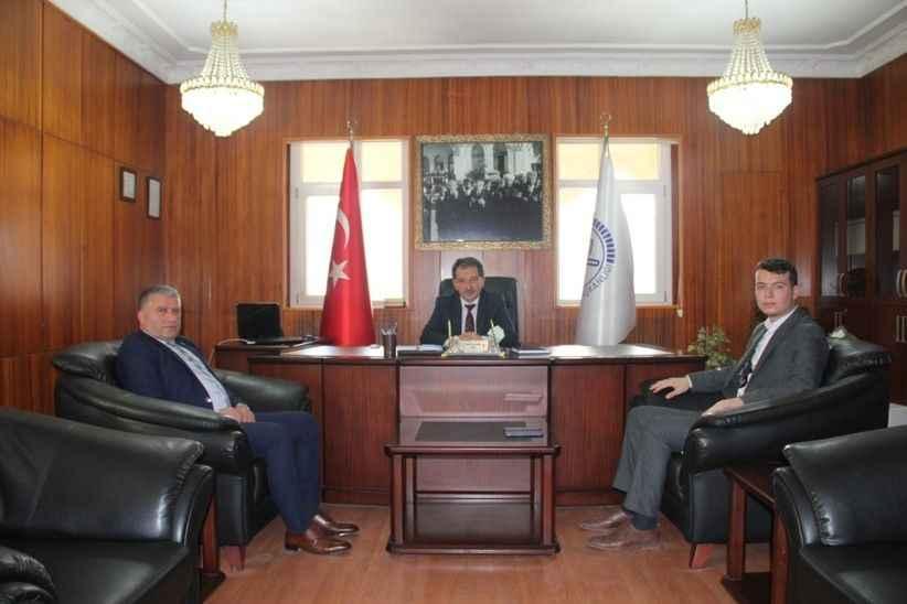 MHP'den Müftü Demir'e hoş geldin ziyareti