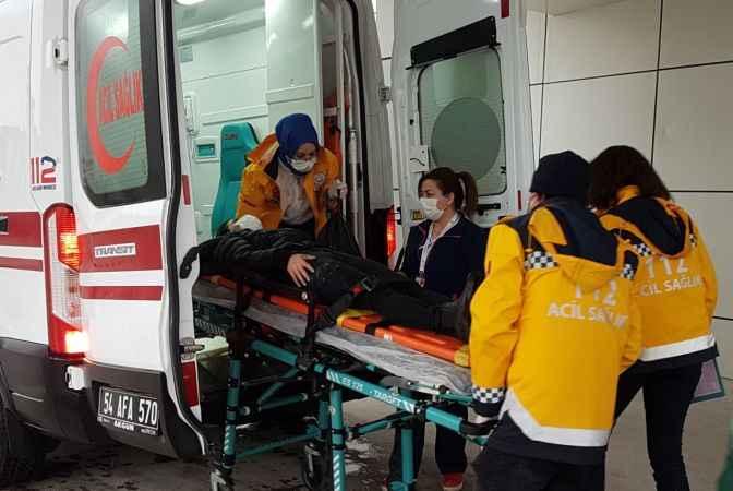 Sakarya'da ATV kaza yaptı: 4 yaralı