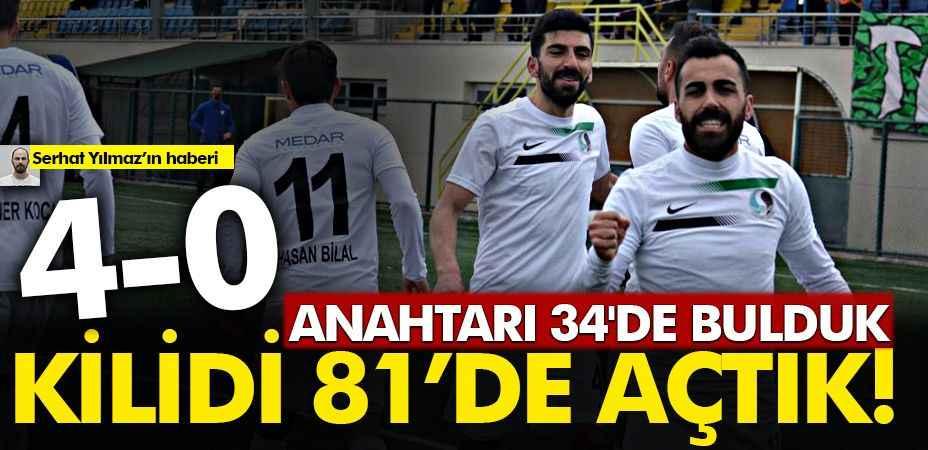 Sakaryaspor, Başkent ekibini 4 golle geçti
