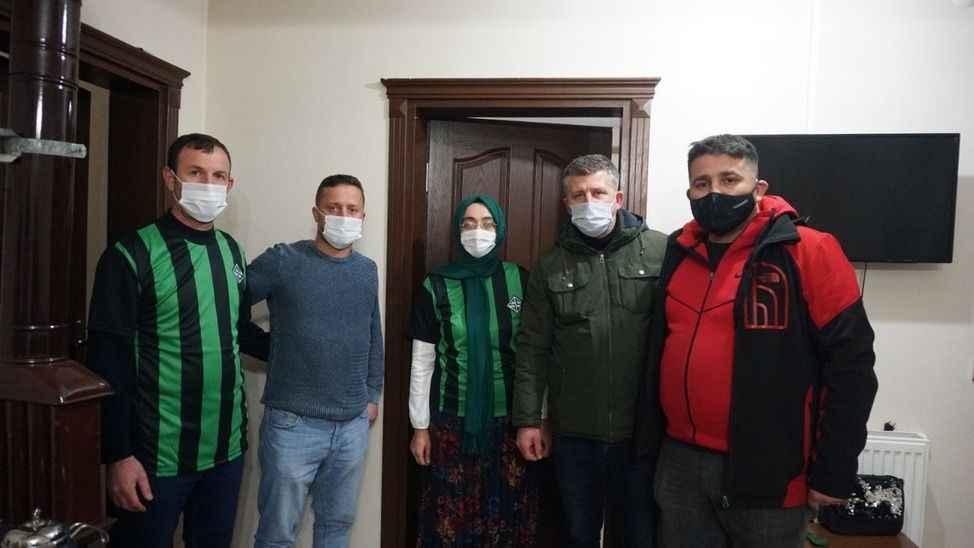 Tatangalar'dan SMA hastası Eymen'e sürpriz doğum günü