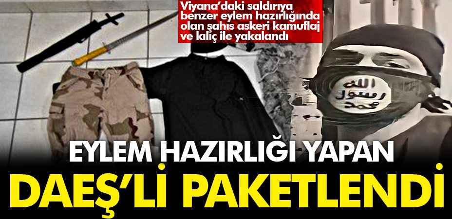 Eylem hazırlığındaki DAEŞ'li terörist Sakarya'da yakalandı