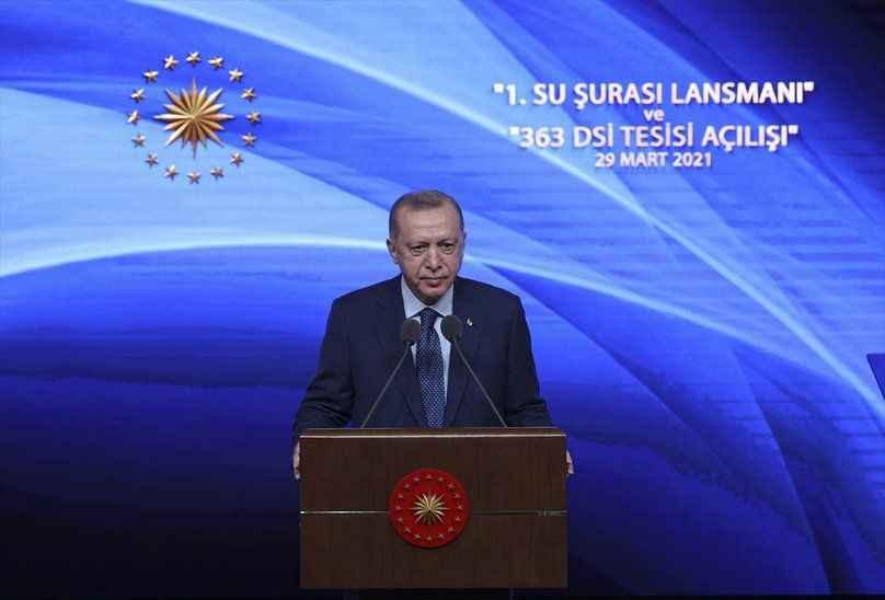 Cumhurbaşkanı Erdoğan: 'Su kanunu hazırlıyoruz'
